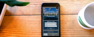 Alexandria tourism mobile website design