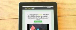 HomeSpot HQ website design