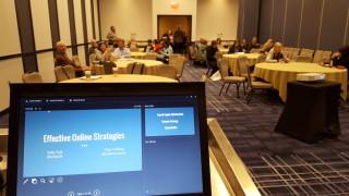 online effective strategies presentation