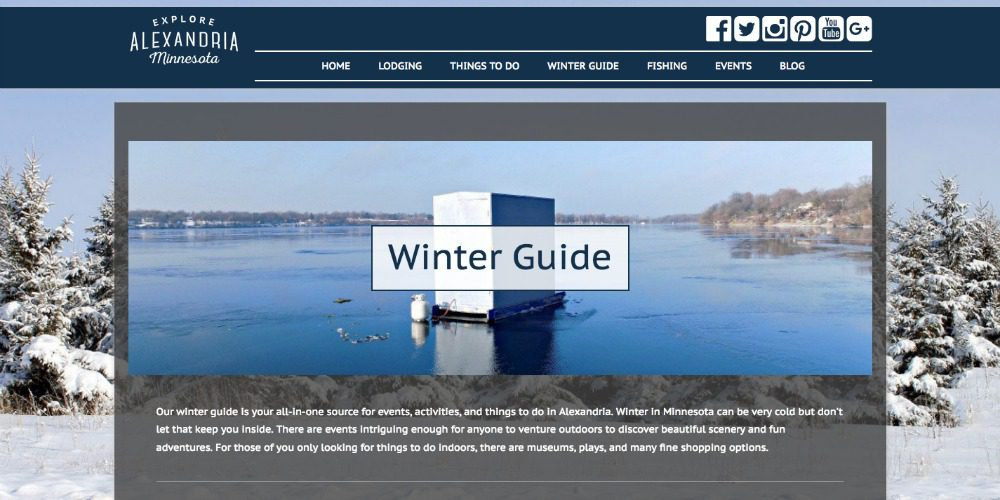 Winter guide design
