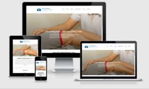 alex rehab website design