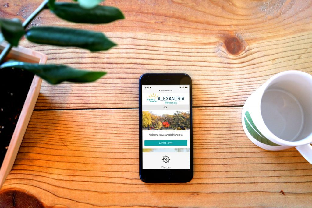 Mobile version of the city of Alexandria website