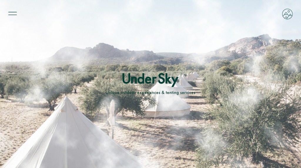 Under Sky Website