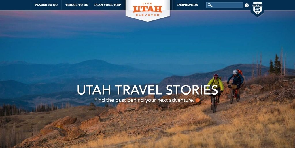 Utah Tourism Website