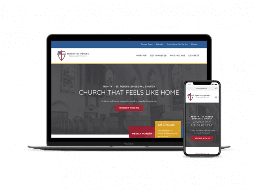 Trinity+St. Peter's Episcopal on devices