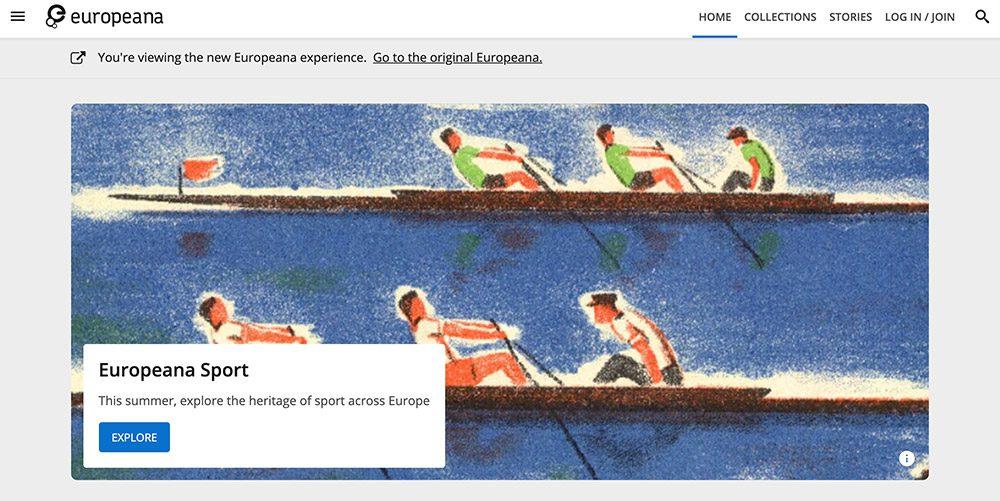 Europeana screenshot